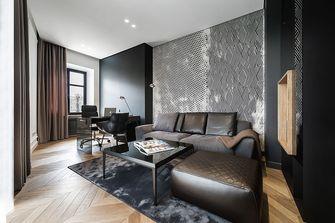 80平米一室两厅混搭风格书房设计图