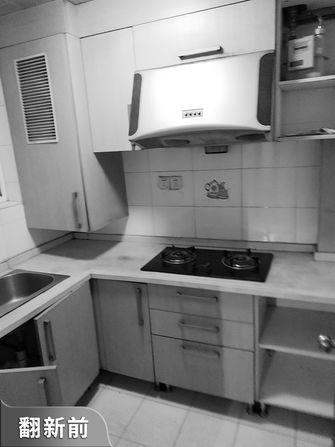 5-10万30平米以下超小户型宜家风格厨房效果图