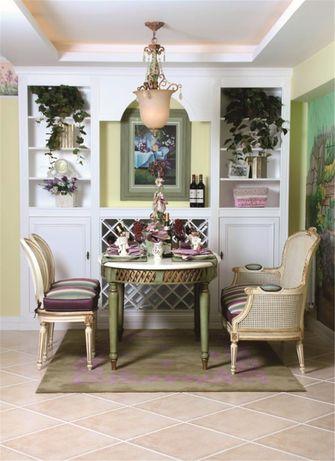 110平米四室两厅法式风格餐厅图片