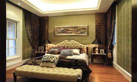 富裕型140平米四室兩廳現代簡約風格臥室裝修圖片大全
