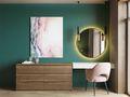 70平米一室一厅美式风格梳妆台装修效果图