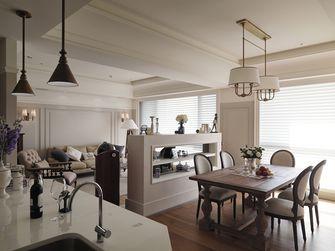70平米一居室美式风格餐厅装修效果图