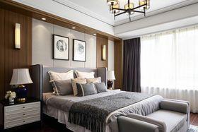 140平米四室兩廳中式風格臥室裝修案例