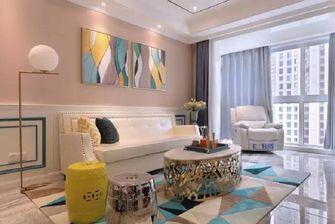 50平米一居室田园风格客厅装修图片大全
