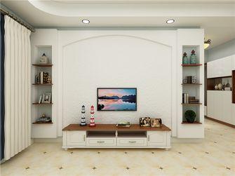 90平米三室三厅地中海风格客厅图片