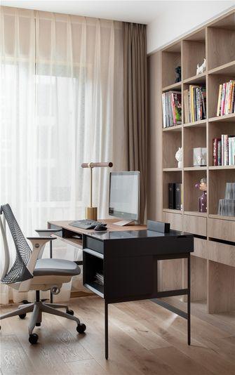 5-10万80平米混搭风格书房设计图