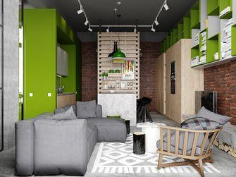 50平米一室两厅宜家风格餐厅装修案例