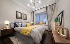 120平米三室一厅宜家风格卧室装修图片大全