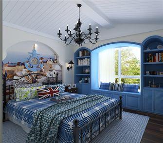 20万以上140平米四室三厅地中海风格卧室装修案例