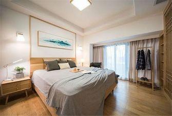 130平米三室两厅日式风格卧室效果图