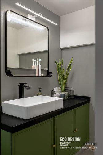 70平米公寓英伦风格卫生间设计图