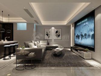 120平米别墅现代简约风格影音室欣赏图