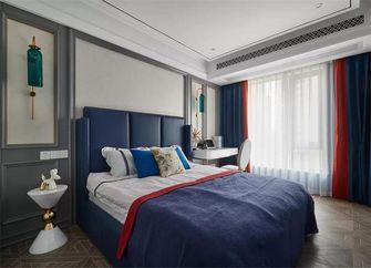 100平米三室一厅新古典风格卧室图片大全