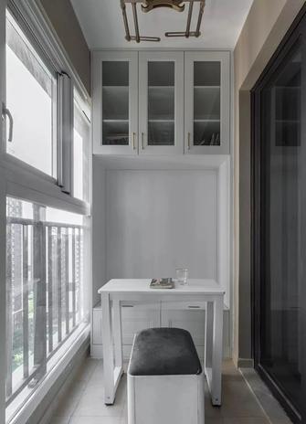 90平米三室两厅美式风格阳台装修效果图