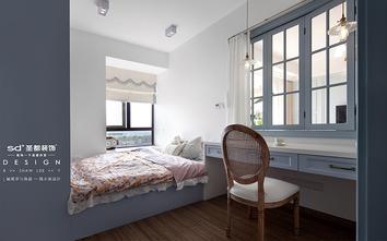 90平米三室两厅美式风格书房图片