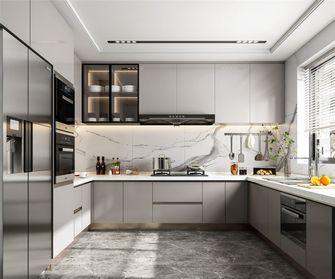 120平米三室三厅现代简约风格厨房图片