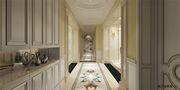 140平米四室三厅欧式风格玄关图片大全