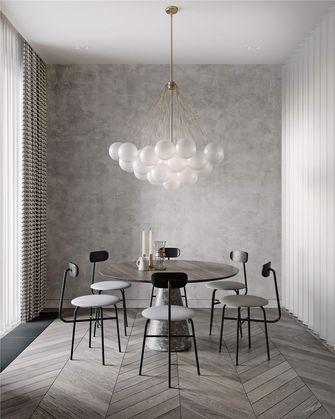 140平米三室两厅混搭风格餐厅装修图片大全