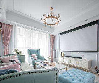60平米一室一厅欧式风格客厅装修图片大全