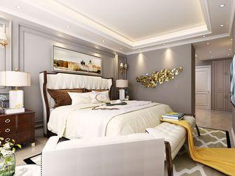 140平米四室四厅美式风格卧室图片