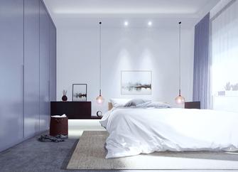 140平米四室一厅北欧风格卧室装修图片大全