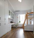 130平米三室一厅宜家风格儿童房图片