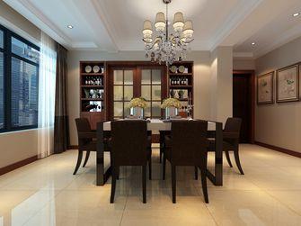 120平米三室三厅中式风格餐厅设计图