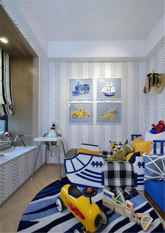 90平米三室两厅北欧风格儿童房效果图