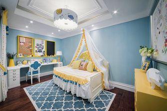120平米三室两厅英伦风格儿童房装修图片大全