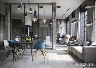 130平米四室两厅现代简约风格客厅图片大全