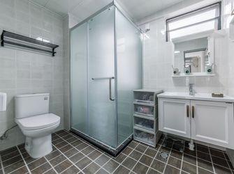 90平米三室两厅北欧风格卫生间浴室柜效果图