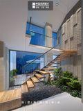 20万以上140平米复式北欧风格楼梯装修案例