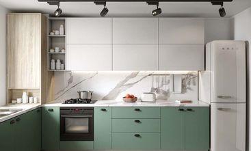 90平米三室两厅现代简约风格厨房图片大全