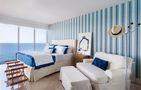 100平米三室两厅地中海风格卧室装修案例
