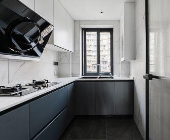 130平米三室一厅现代简约风格厨房欣赏图