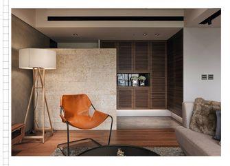 120平米三室两厅英伦风格阳台装修效果图