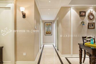 130平米三美式风格走廊装修案例