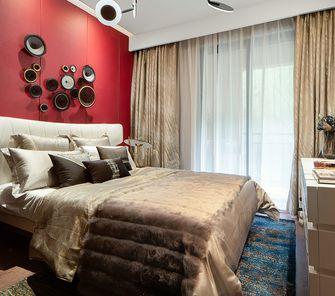 90平米三室一厅混搭风格卧室欣赏图