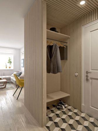 70平米一室两厅北欧风格玄关效果图