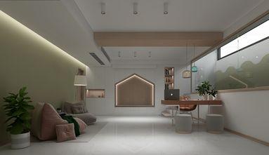 140平米复式日式风格书房装修图片大全