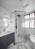110平米三田园风格卫生间装修案例