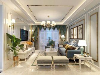 90平米三现代简约风格客厅设计图