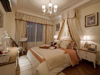 110平米三室两厅田园风格卧室效果图