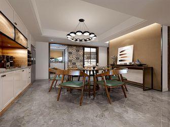 140平米三室三厅北欧风格餐厅图