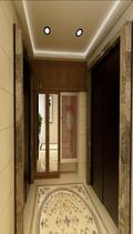 140平米四室四厅中式风格楼梯间装修图片大全