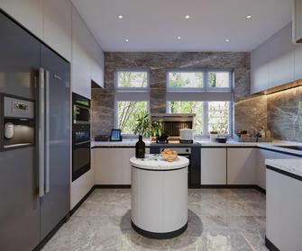 140平米四室三厅中式风格厨房装修案例