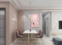 120平米三室两厅北欧风格餐厅欣赏图