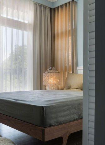 110平米三室两厅混搭风格卧室图