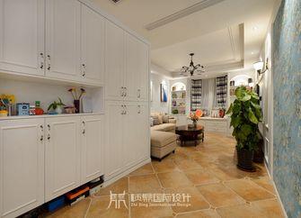 富裕型90平米三室两厅现代简约风格走廊效果图