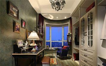 140平米三室三厅美式风格书房设计图
